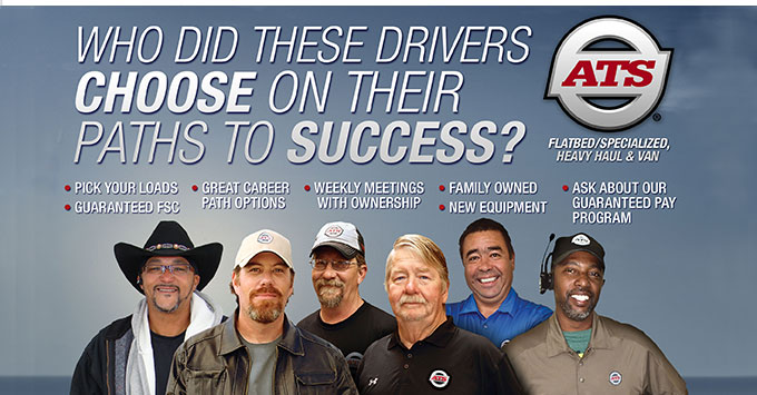 Grow your driving career with ATS