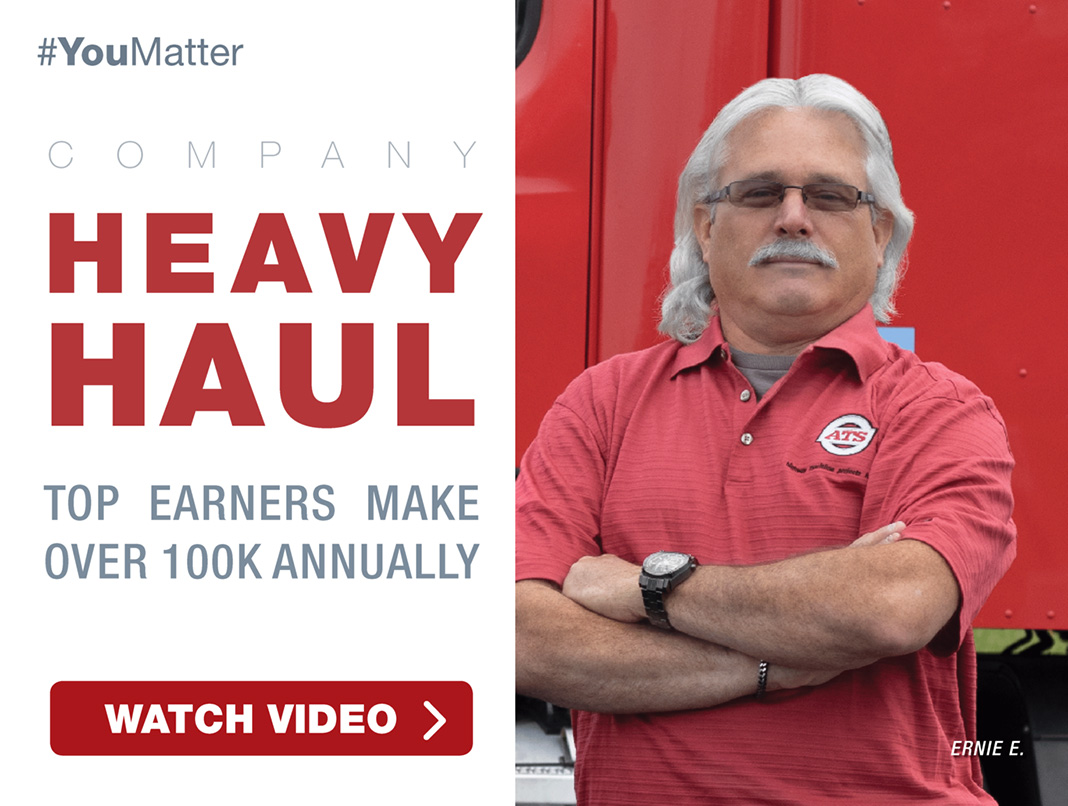 Company Heavy Haul Top Earners Make Over 100K Annually